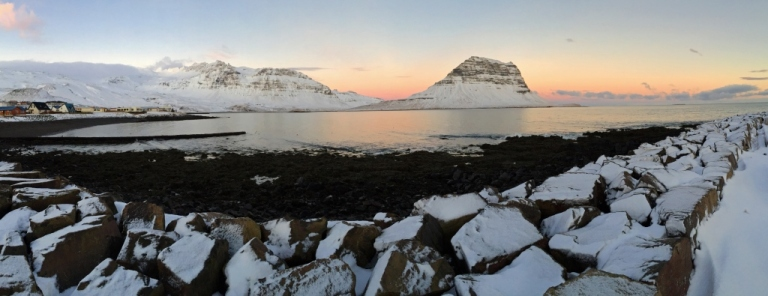 MORNING AT KIRKJUFELL