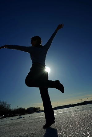 Dancing on a Frozen Pond